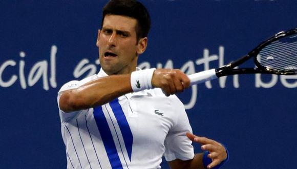 Djokovic derrotó a Berankis en su regreso a las canchas en el Masters de Cincinnati. (ESPN)