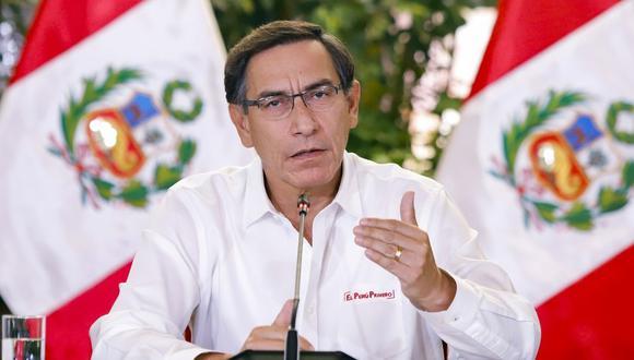 Martín Vizcarra anunciará y profundizará nuevas medidas tomadas a raíz de la ampliación de la cuarentena.