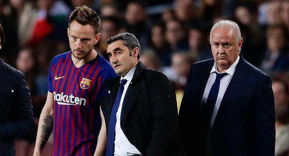 Ernesto Valverde no quiso entrar en polémicas tras el partido en Cartagena. (Getty Images)
