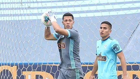 Renato Solís se prepara para el duelo ante Universitario (Foto: GEC)