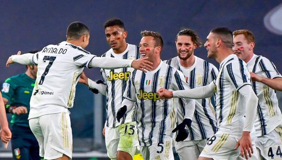 Juventus sumó 16 puntos y se ubica momentáneamente en la segunda casilla de la Serie A. (Foto: AFP)