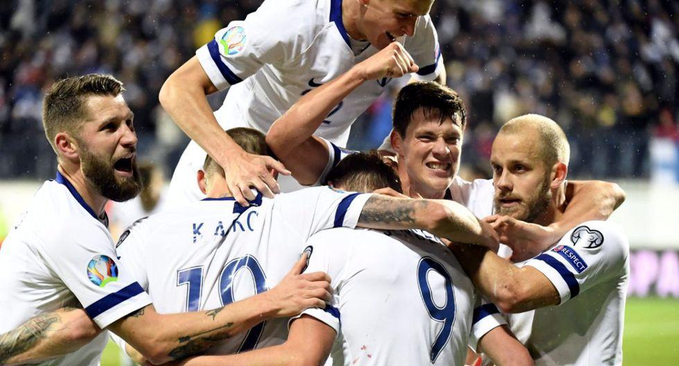 Todo el pueblo de Finlandia celebra su clasificación a la Euro 2020. (Foto: Getty Images)