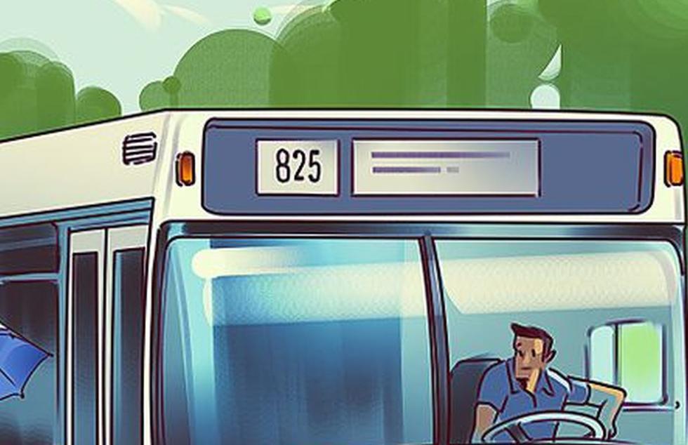 Viral: halla el error en la siguiente imagen del bus que muy pocos resuelven (Foto: Facebook)