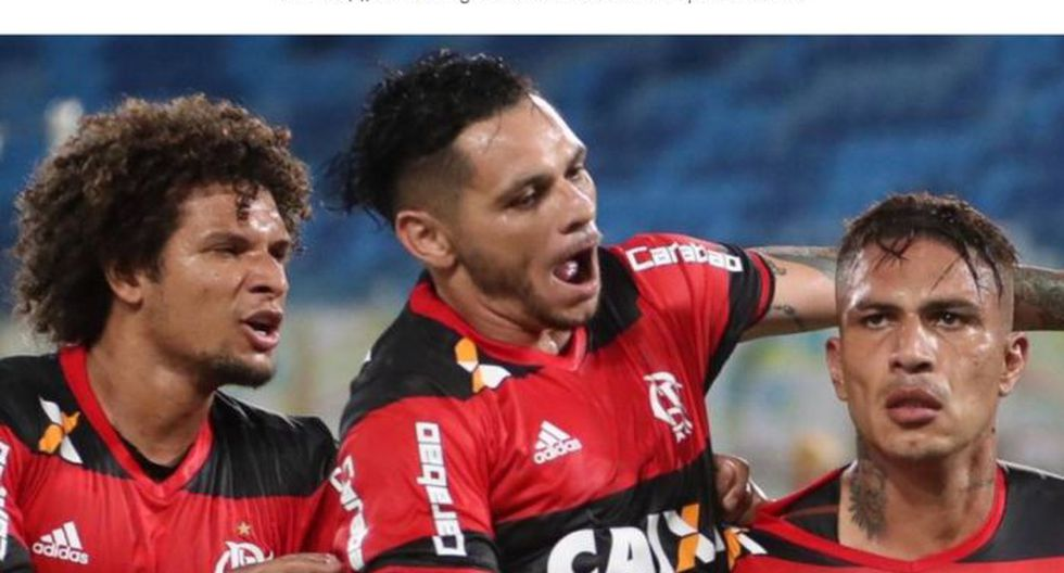 La prensa brasileña alabó el desempeño de los peruanos en el Flamengo.