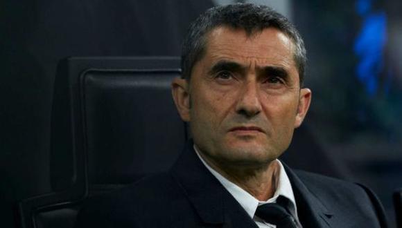 Ernesto Valverde fue cesado del FC Barcelona en enero de 2020. (Foto: Getty Images)