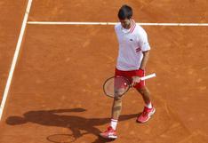 Sorpresa en los octavos de final: Novak Djokovic fue eliminado del Masters 1000 de Montecarlo