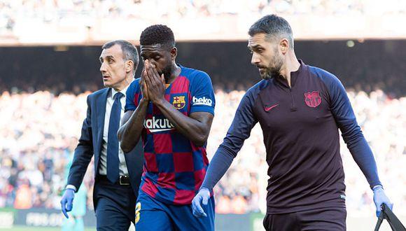 Samuel Umtiti llegó al Barcelona desde Lyon. (AFP)