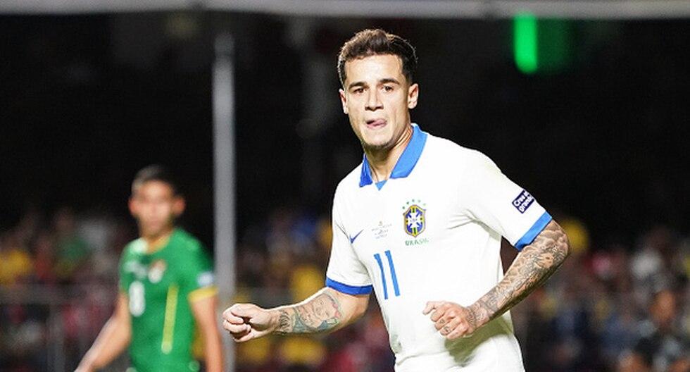 Coutinho lleva dos goles en la presente Copa América. (Foto: Getty Images)