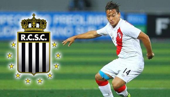 Cristian Benavente firmó por dos años con el Royal Charleroi (Difusión).