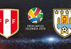 Perú vs. Uruguay: fecha, hora y canal del tercer partido por el Preolímpico Colombia 2020