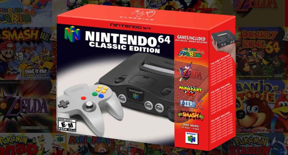 Nintendo 64 Mini (Press Start Australia)