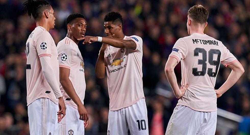 Manchester United quedó en el sexto puesto de la Premier 2018-19. (Getty)