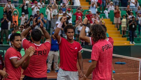 Perú chocará con Bosnia & Herzegovina por la serie del Grupo Mundial I. (Foto: Copa Davis)