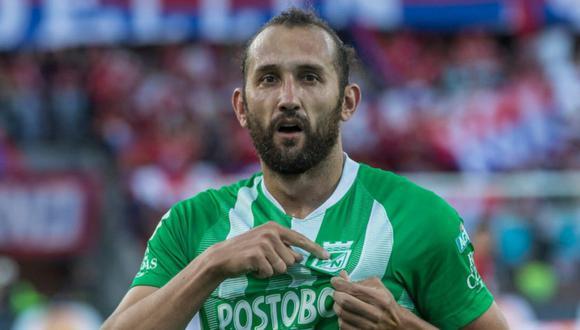 El último club de Hernán Barcos en Sudamérica fue Atlético Nacional de Colombia. (Foto: Agencias)