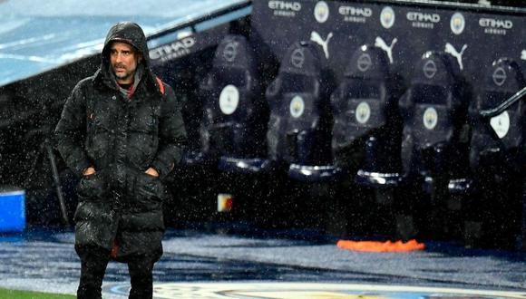 Pep Guardiola ganó el premio el mejor DT del siglo en los Globe Soccer Awards (Foto: AFP)