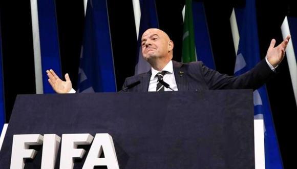 Gianni Infantino descarta interés de promover Superliga en Europa.