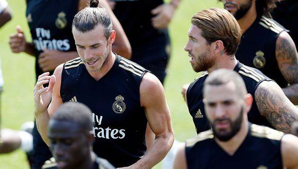 Sergio Ramos volvió a entrenarse con el Real Madrid previo al duelo por la jornada 1 de LaLiga Santander 2019-20. (Getty Images)