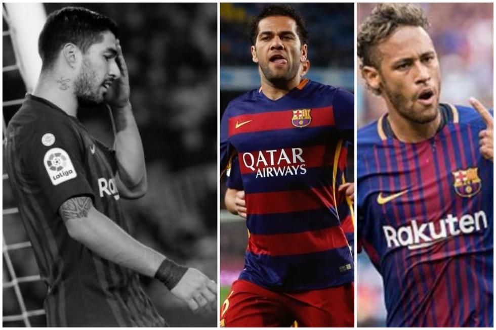 Fichajes de Barcelona se fueron por la puerta de atrás.