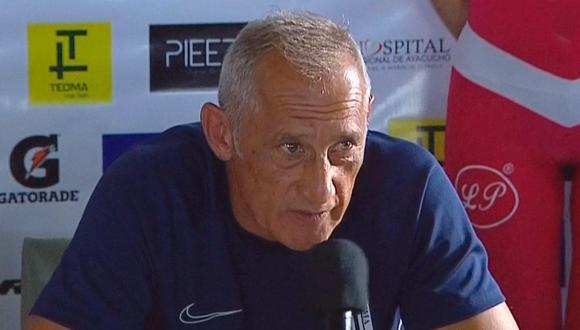 Oscar Aguirregaray habló tras la derrota de Alianza Lima en Ayacucho. (Foto: Ovación)