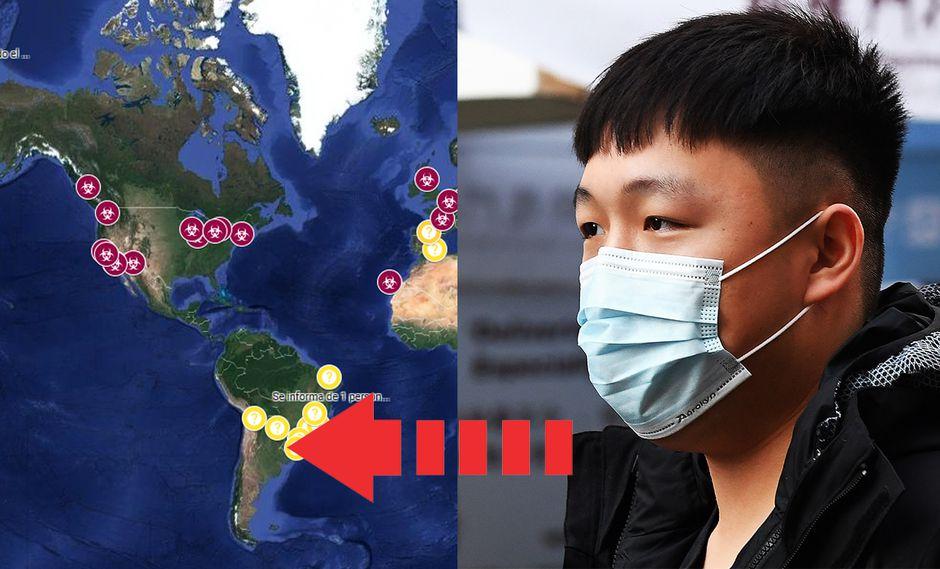 Google Maps te permite mirar EN VIVO todos los lugares donde ha llegado a expandirse el Coronavirus. (Foto: EFE)