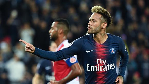 Neymar confía en la remontada del PSG ante Manchester City y avanzar a la final de Champions. (Foto: AFP)