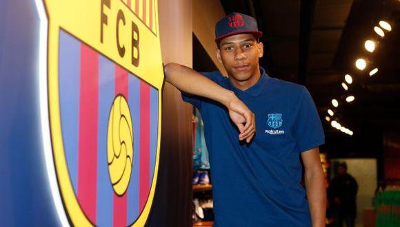 Jean-Clair Todibo firmó contrato con Barcelona hasta junio del 2023. (Foto: FC Barcelona)