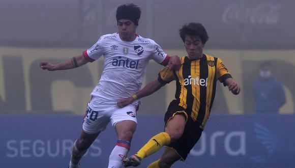 Peñarol y Nacional empataron 1-1 en el reinicio del Campeonato Uruguayo 2020. (AFP)