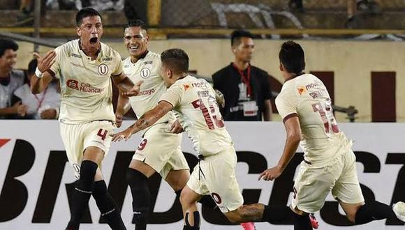 Federico Damián Alonso anotó el único gol de la victoria de Universitario sobre Carabobo por Copa Libertadores   Foto: GEC