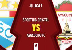 Sporting Cristal vs. Ayacucho FC: fecha, horarios y canales de transmisión para ver el partido de la Liga 1