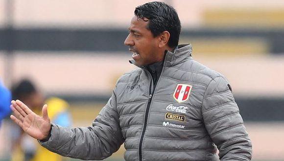 Solano dio sus impresiones tras el Perú vs. Colombia. (Foto: Francisco Neyra / GEC)