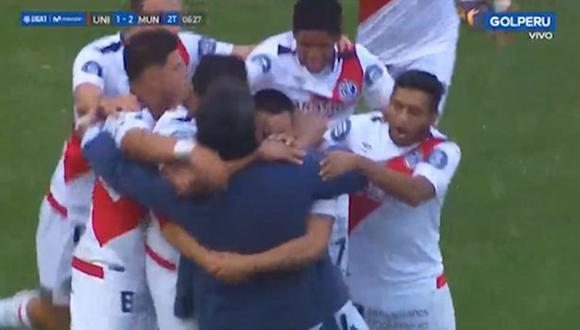 Rolando Huari marcó el segundo gol para Deportivo Municipal. (GOLPERU)