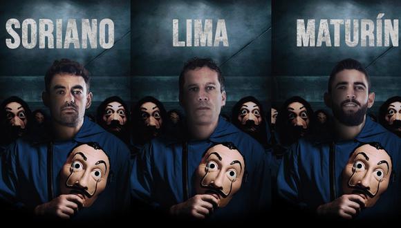 Alianza Lima se sumó a la fiebre de 'La casa de papel'. (Foto: Prensa AL)