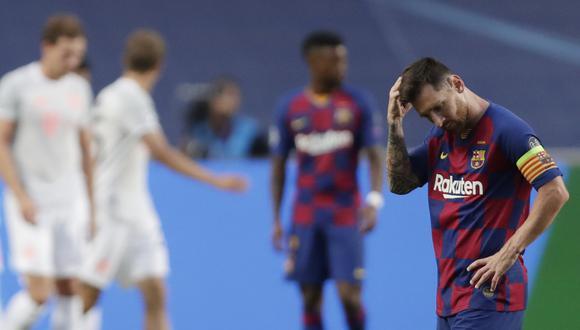 Barcelona vs. Bayern Munich se enfrentaron por la Champions League. (Foto: AFP)