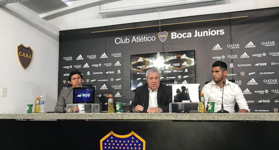 Carlos Zambrano fue anunciado como nuevo refuerzo de Boca Juniors. (Twitter)