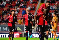 Goleada 'rojinegra': Atlas venció 3-0 a Necaxa en la fecha 9 del Torneo Apertura 2021