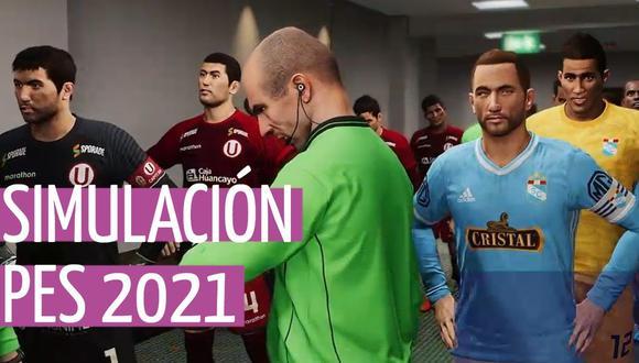 PES 2021: Universitario vs. Sporting Cristal, simulamos el partido en Pro Evolution Soccer. (Foto: Depor)