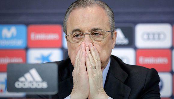 'Ultras Sur', la facción más radical de hinchas del Madrid, fueron expulsados del Bernabéu por Florentino en el 2014. (Getty)