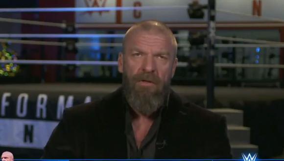 Triple H habló sobre NXT en WWE Backstage. (Foto: FOX)