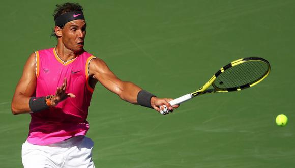 Rafael Nadal busca su título número 34 de Masters 1000 como profesional. (AFP)