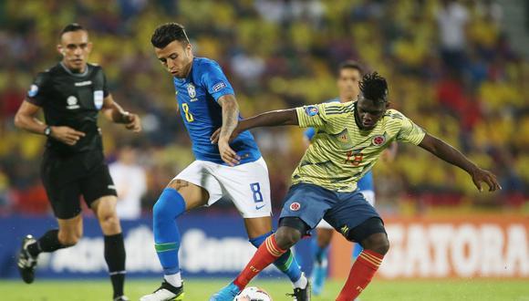 Colombia y Brasil empataron en la fecha 1 del Cuadrangular Final del Preolímpico Sub-23. (Reuters)