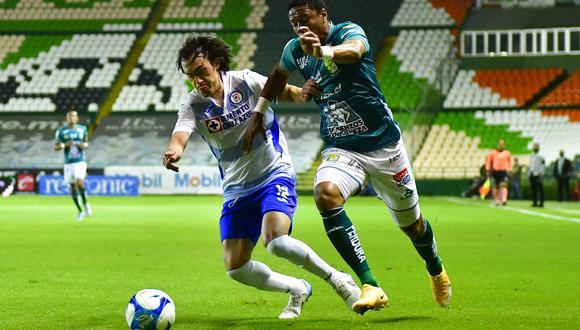 Cruz Azul vs. León se vieron las caras este sábado por la jornada 8 de la Liga MX 2021 (Foto: @CruzAzulCD)