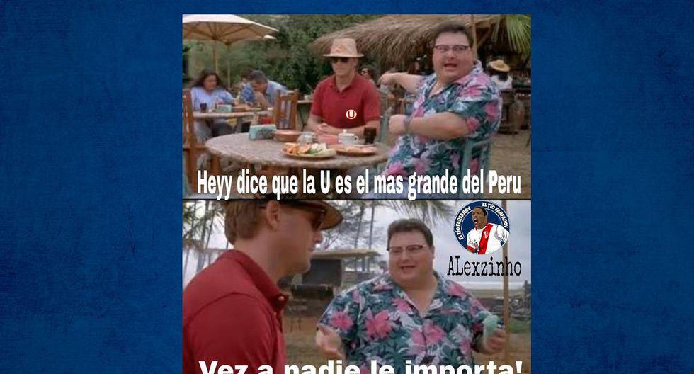 Los memes calientan la previa del clásico del fútbol peruano. (Foto: FACEBOOK)
