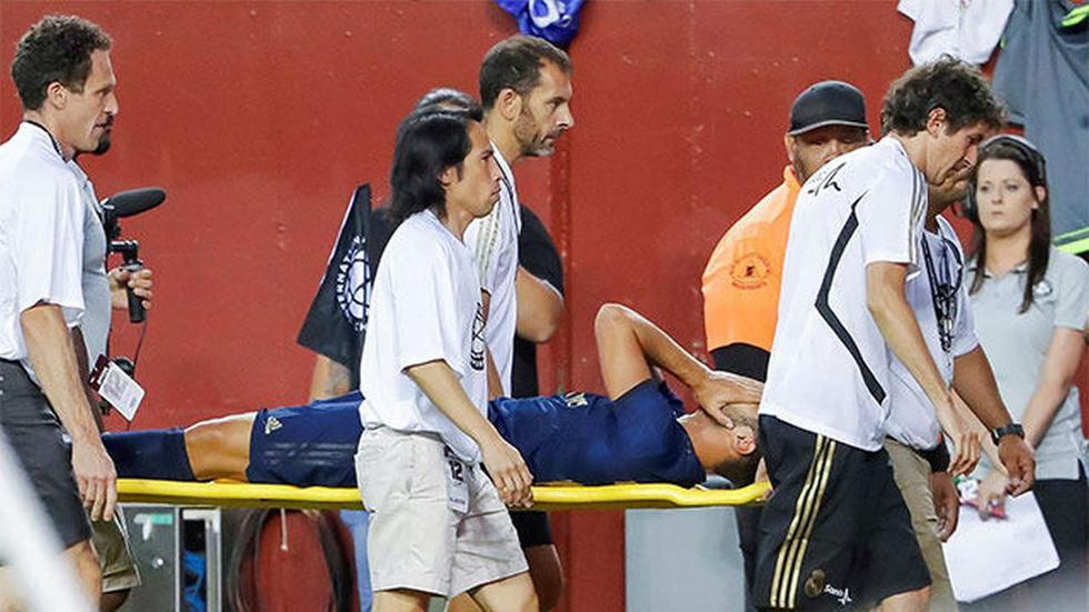 Marco Asensio sufrió rotura de ligamentos ante Arsenal. (Sport)