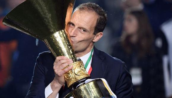 Massimiliano Allegri tuvo en Juventus su última experiencia como entrenador. (Foto: AFP)