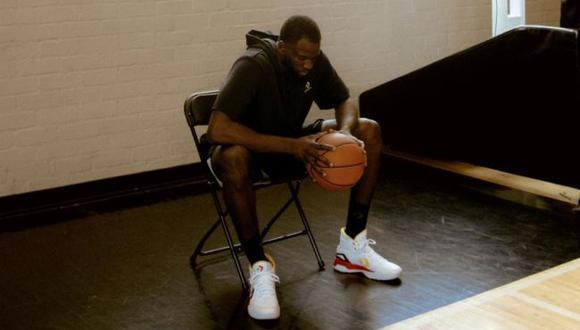 Estrellas de la NBA dejan todo en la cancha con zapatillas de última tecnología . (Difusión)