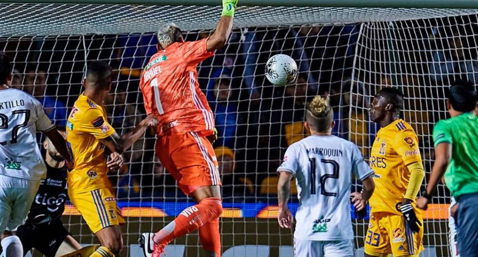 Tigres venció 4-2 a Alianza FC y clasificó a los cuartos de final de la Concachampions. (Foto: Twitter)