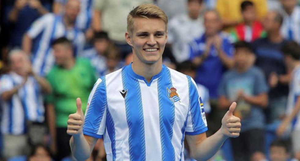 Martin Ödegaard | Real Sociedad. (Getty Images)