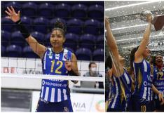 ¡Arriba, Perú! Carla Rueda salió campeona con FC Porto en la Liga de Vóley de Portugal