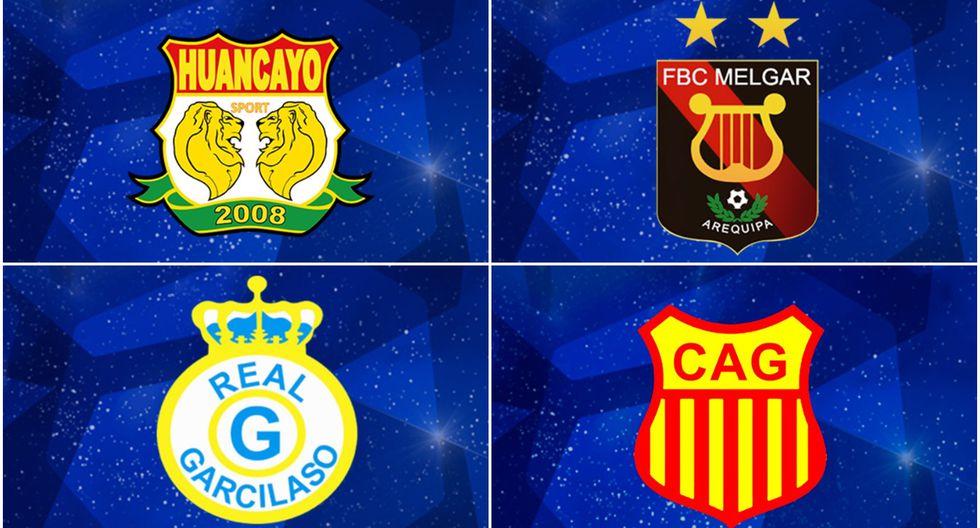 Sport Huancayo, Melgar, Real Garcilaso y Atlético Grau clasificaron a la fase 1 de la Copa Sudamericana 2020.