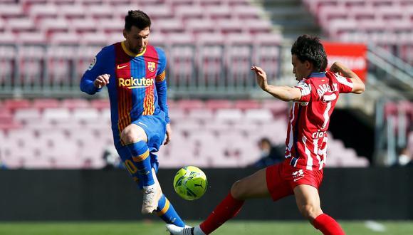 Barcelona no pudo ante el Atlético de Madrid como local en Camp Nou. (Foto: EFE)
